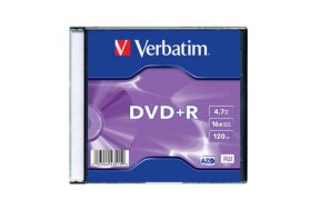 DVD+R VERBATIM SLIM CASE